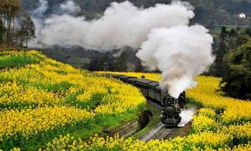 乐山犍为小火车,川西古镇、茶馆、桃花 专业摄影创作团(五日行程)