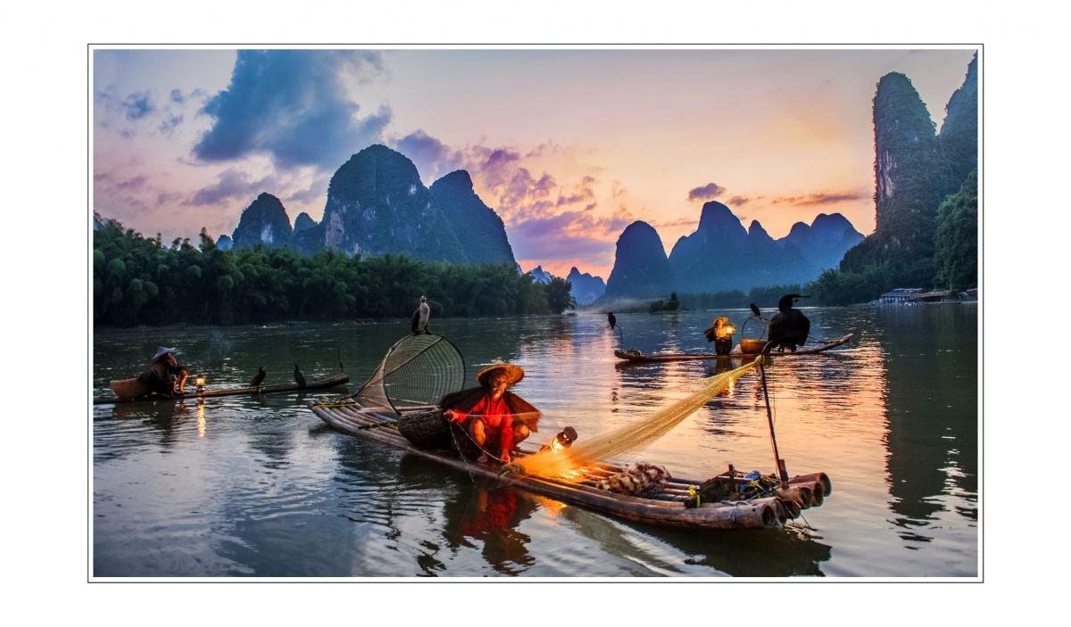 桂林山水+郴州小东江7日风光摄影