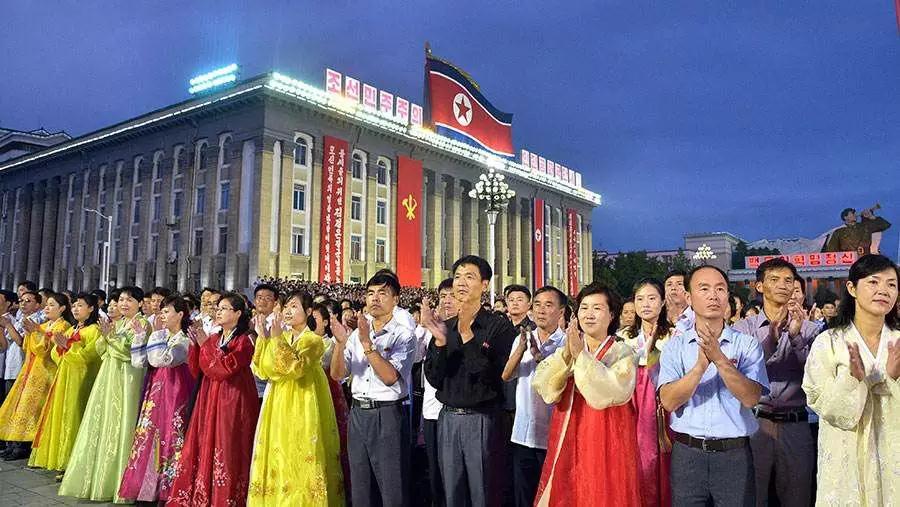朝鲜秋季风光8日摄影