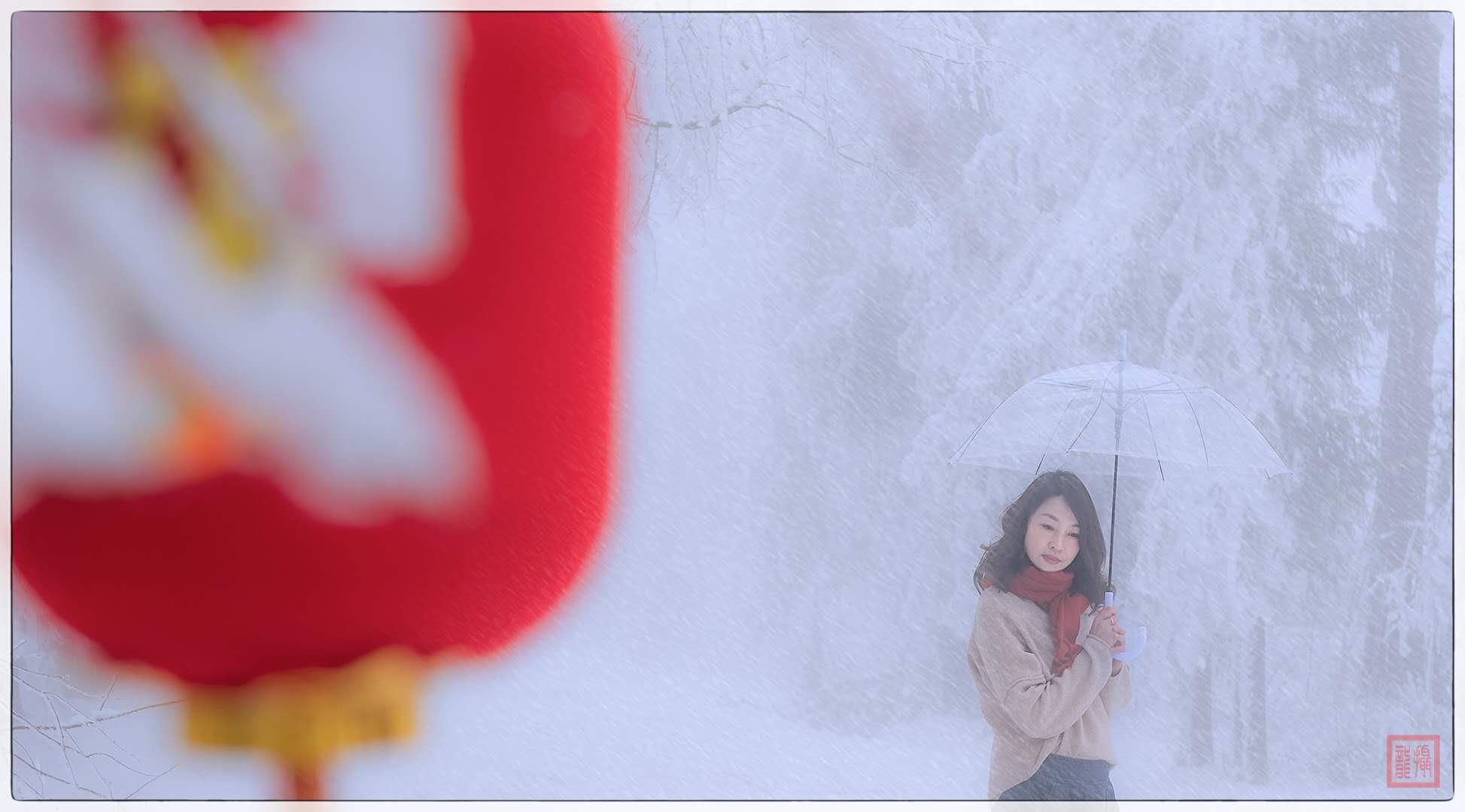 湖北恩施利川花岩冰雪摄影团